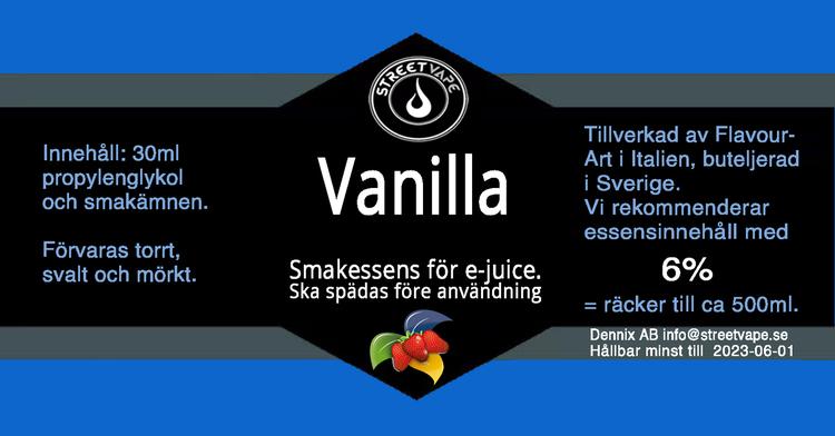 Essens 30ml Vanilla Burbon (rek 6%)