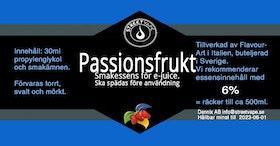 Essens 30ml Passionsfrukt (rek 6%)