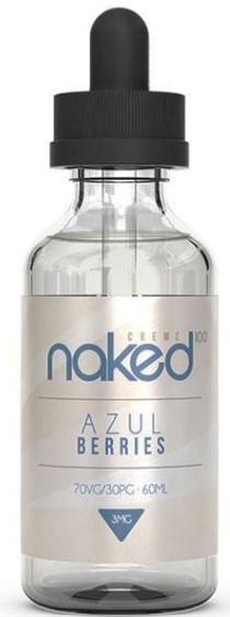Naked 100 Azul Berries 50+10ml shortfill