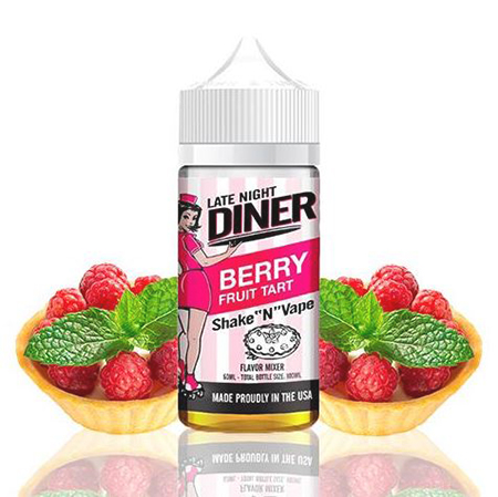 50+++++ Late Night Diner - Berry Fruit Tart