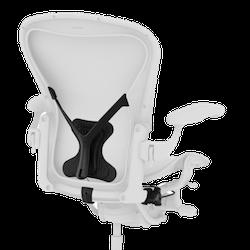 Montering av Posture-Fit Kit till Herman Miller Aeron