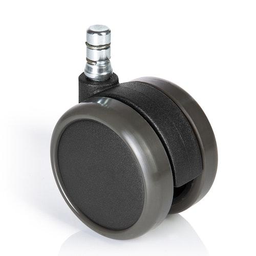5-pack hjul hårda golv Herman Miller Aeron 11mm / 65mm