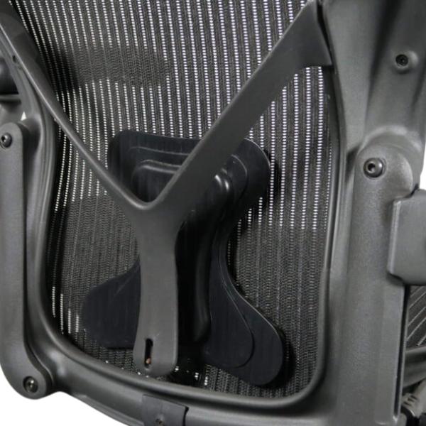 Herman Miller Aeron B/medium med PostureFit - Begagnade