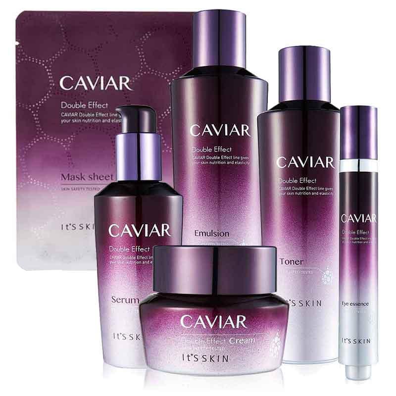 Hudvårdsset It'S SKIN Caviar Double Effect mogen hud