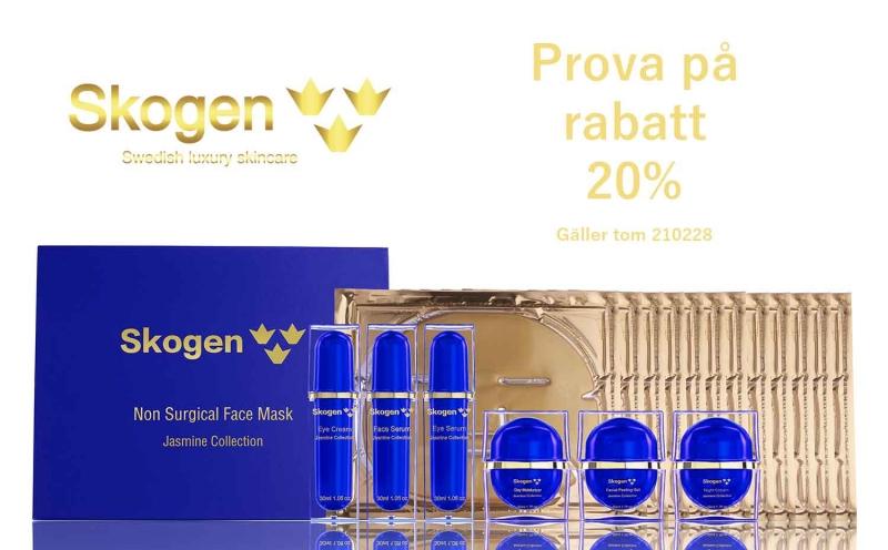 Skogen Swedish Luxury Skincare