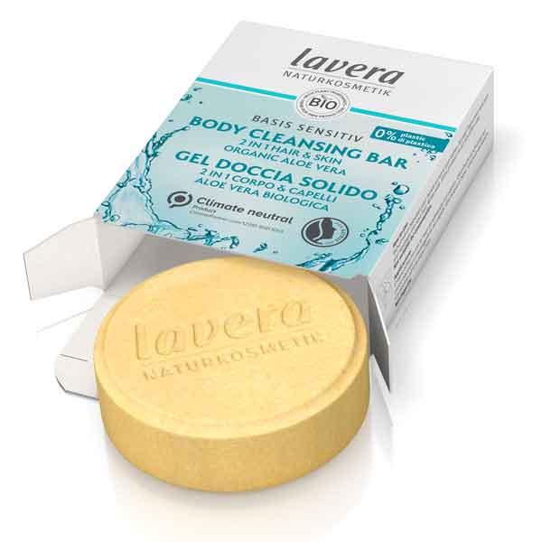 LAVERA Basis Sensitiv Body Cleansing Bar 2In1 50 g