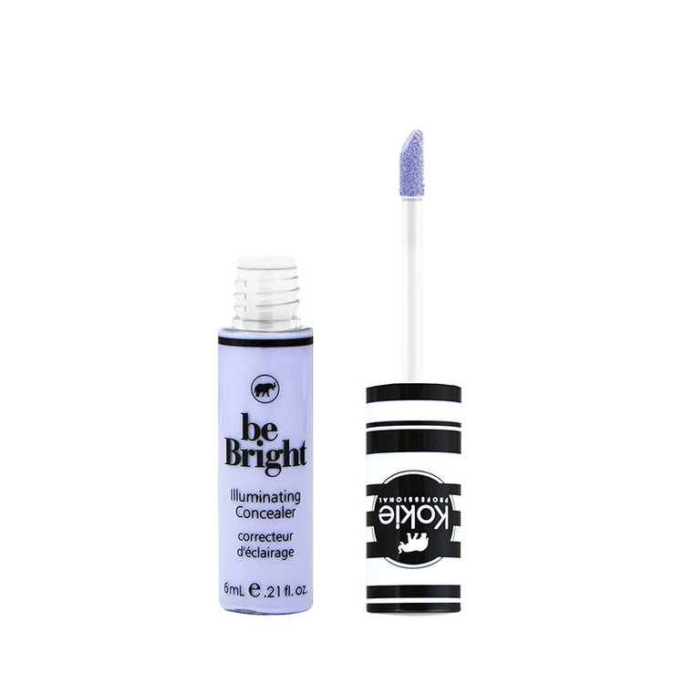 Kokie Be Bright Illuminating Concealer Color Correct Lavendar
