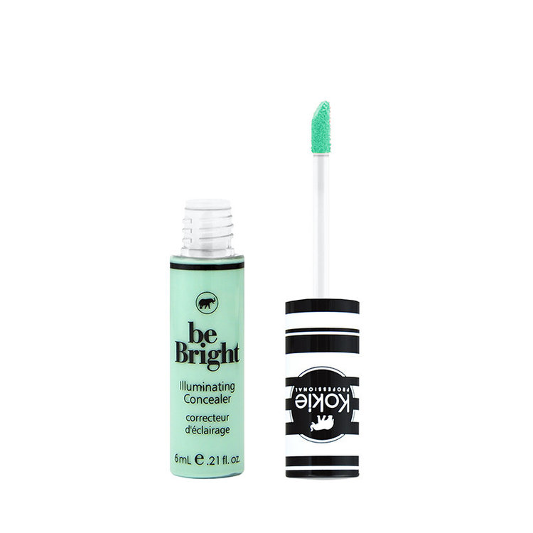 Kokie Be Bright Illuminating Concealer Color Correct Green