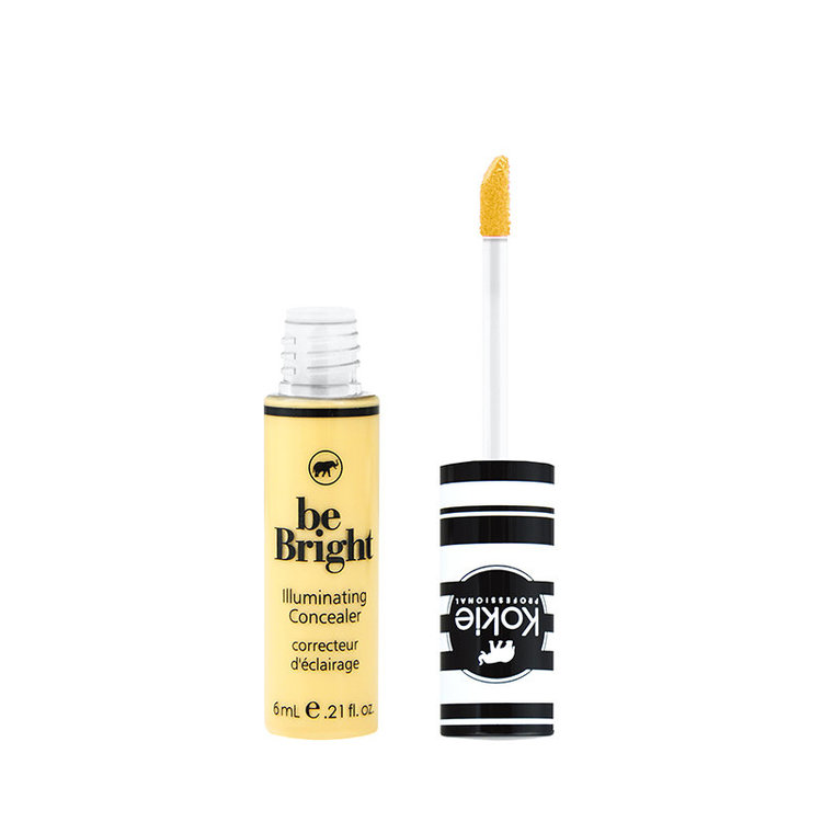Kokie Be Bright Illuminating Concealer Color Correct Yellow