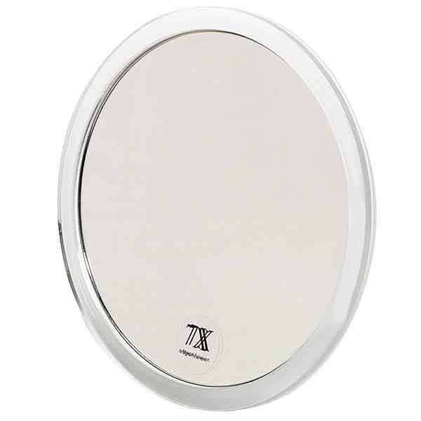 Spegel med förstoring x5 och sugproppar 16,7 cm