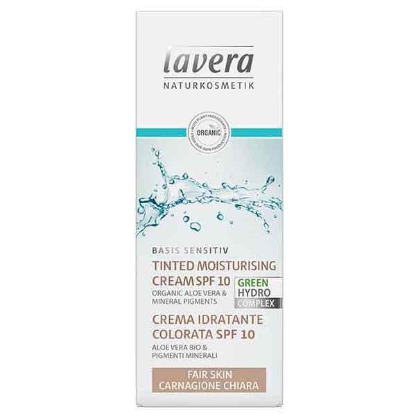 LAVERA Basis Sensitive Tinted Moisturising Cream SPF 10