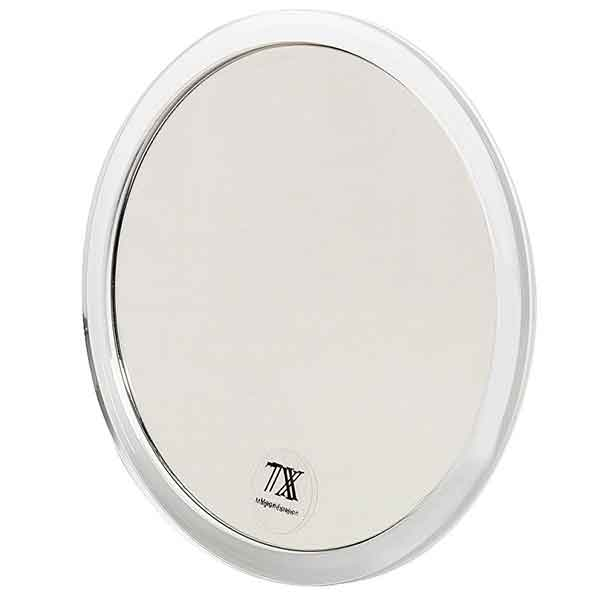 Spegel med förstoring x7 och sugproppar 16,7 cm