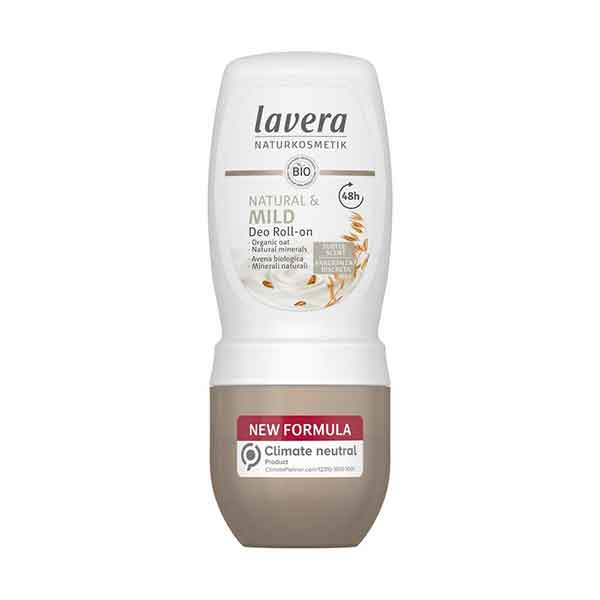 LAVERA Deo Roll-on Natural & Mild 50 ml