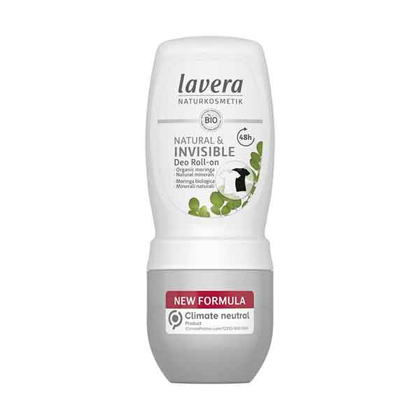 LAVERA Deo Roll-on Natural & Invisible 50 ml
