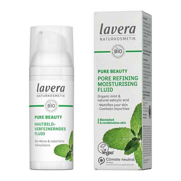LAVERA Pure Beauty Pore Refining Moisturising Fluid 50 ml