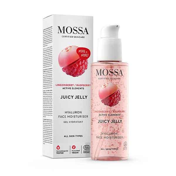 MOSSA Juicy Jelly Hyaluron Face Moisturiser 100 ml