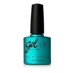 PRETTY WOMAN gelogic nail polish Teal Green