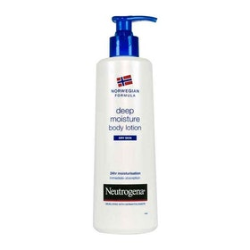 Neutrogena Norwegian Formula Deep Moisture Body Lotion Dry Skin