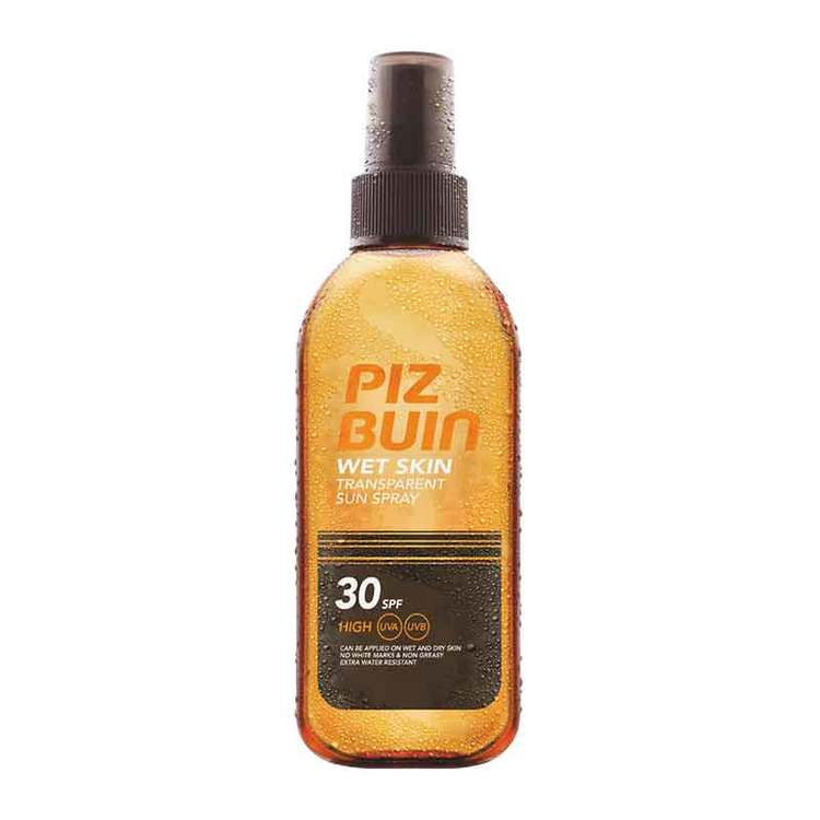 Piz Buin Wet Skin Transparent Sun Spray SPF30