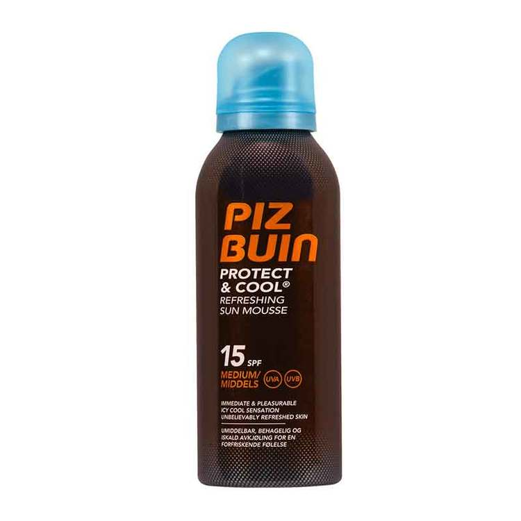 Piz Buin Protect & Cool Mousse SPF 15