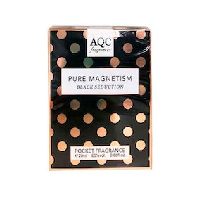 AQC Fragrances Pure Magnetism Black Seduction Pocket