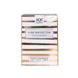 AQC Fragrances Pure Magnetism Gold Elegance Pocket