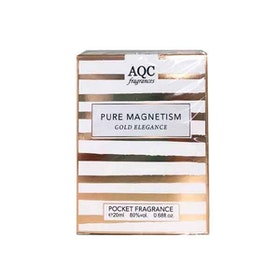 AQC Fragrances Pure Magnetism Gold Elegance Pocket