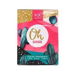 AQC Fragrances Oh Savage Pocket