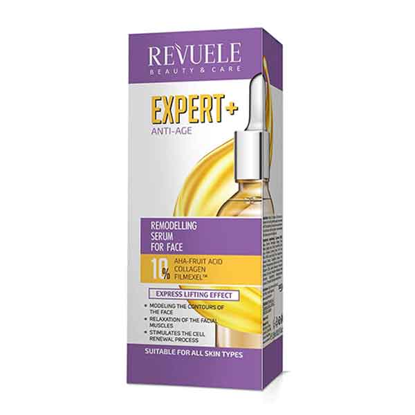 REVUELE Expert+ Anti-Age Remodelling Serum For Face Express Lifting Effect