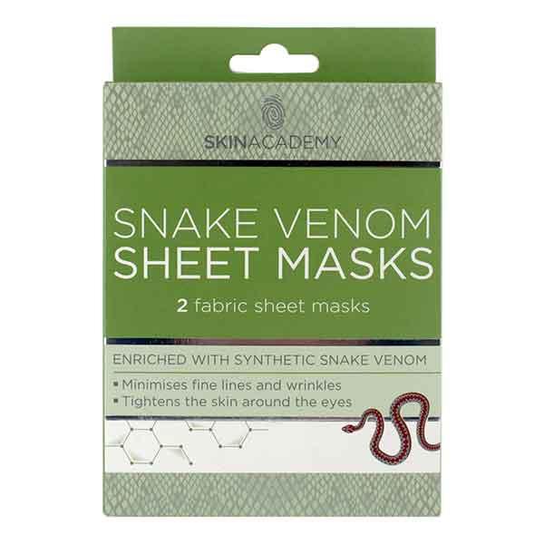 Skin Academy Snake Venom Sheet Masks