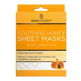 SKIN ACADEMY Honey Sheet Masks