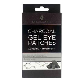 SKIN ACADEMY Charcoal Gel Eye Patches