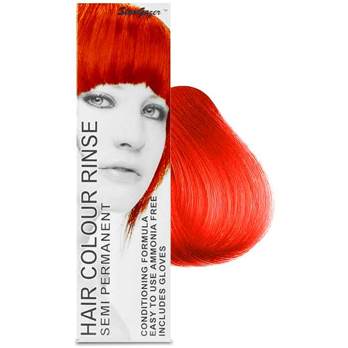 StarGazer Hair Colour Rinse Semi Permanent Golden Flame