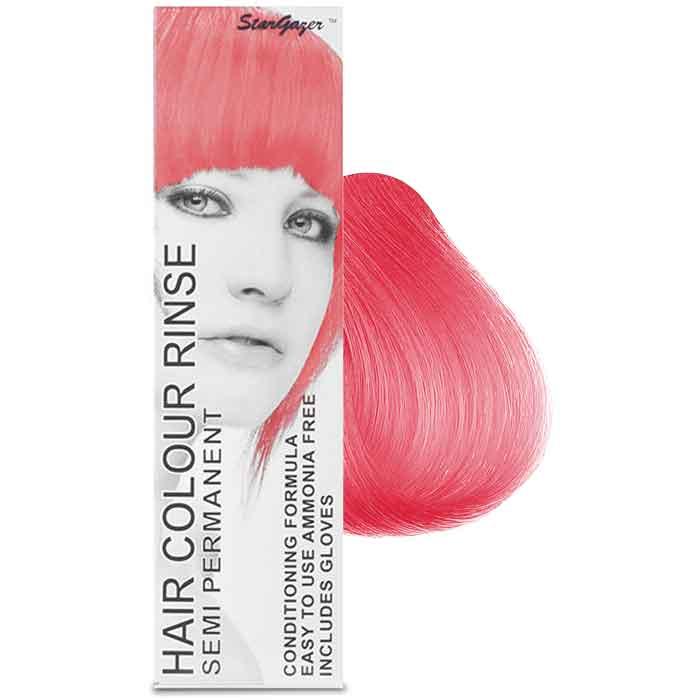 StarGazer Hair Colour Rinse Semi Permanent Rose Pink