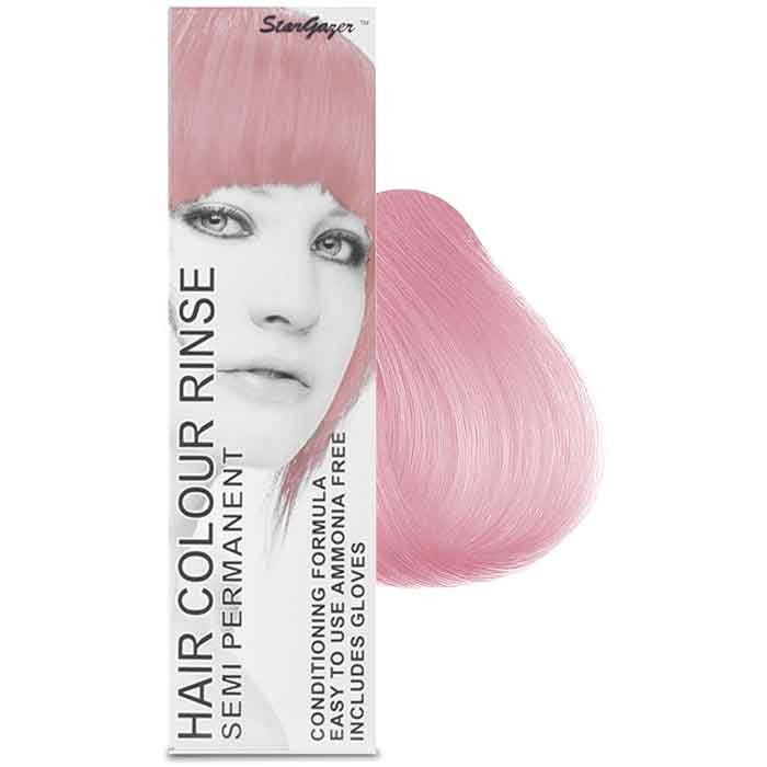 StarGazer Hair Colour Rinse Semi Permanent Baby Pink