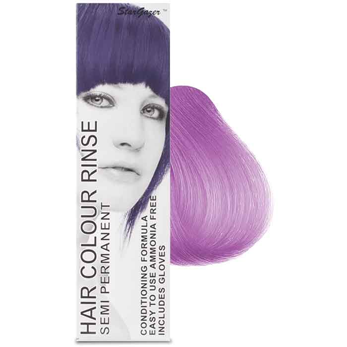 StarGazer Hair Colour Rinse Semi Permanent Lavender