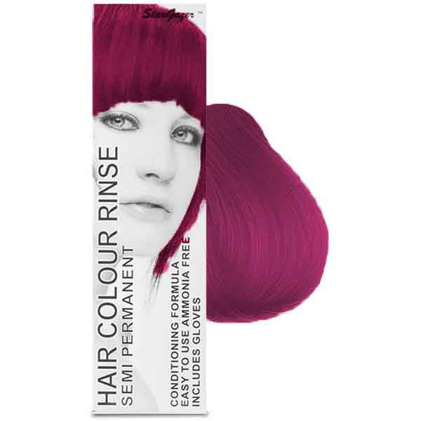 StarGazer Hair Colour Rinse Semi Permanent Soft Cerise
