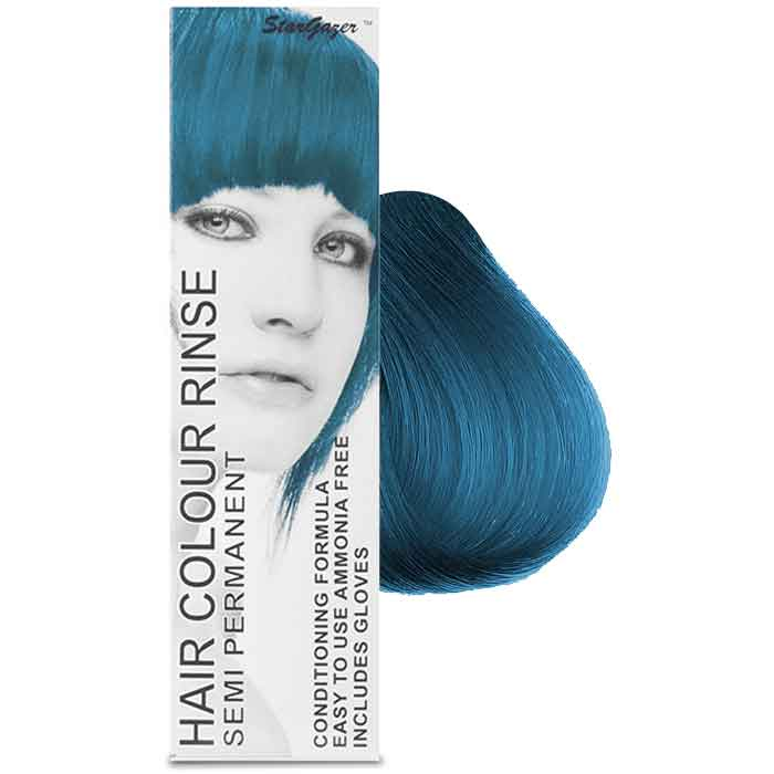 StarGazer Hair Colour Rinse Semi Permanent Azur Blue