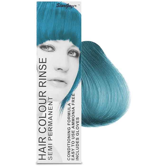 StarGazer Hair Colour Rinse Semi Permanent Soft Blue