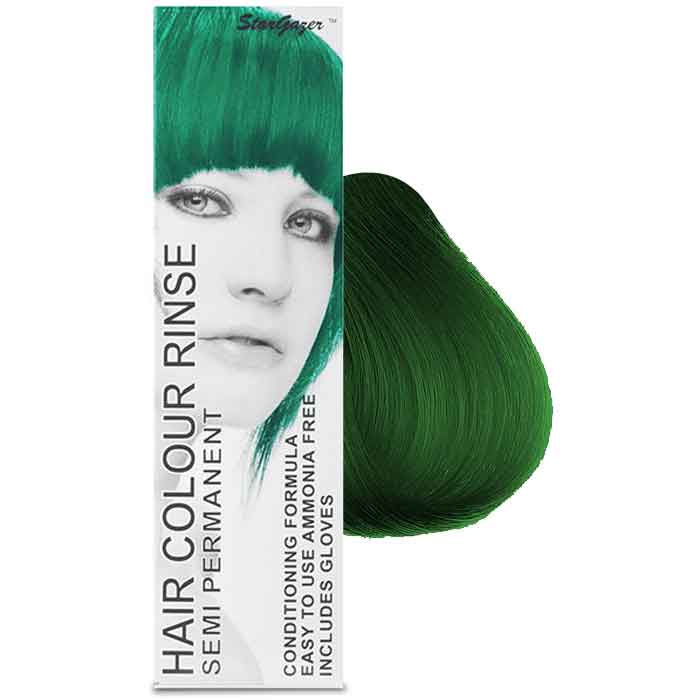 StarGazer Hair Colour Rinse Semi Permanent Tropical Green