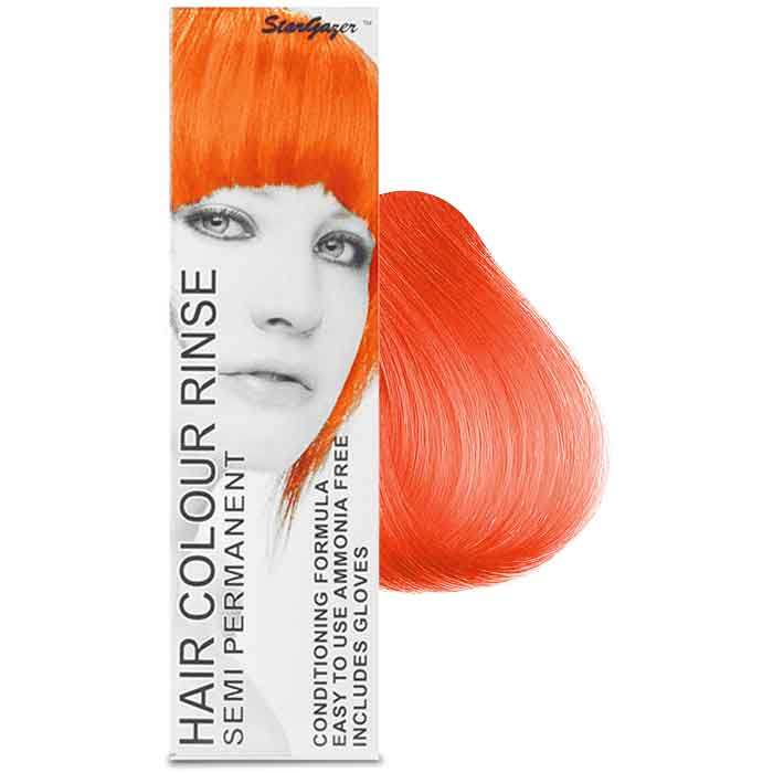 StarGazer Hair Colour Rinse Semi Permanent UV-Red
