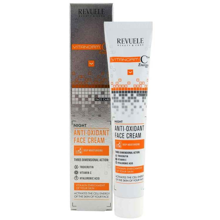 REVUELE Vitanorm C+Energy Night anti-oxidant face cream