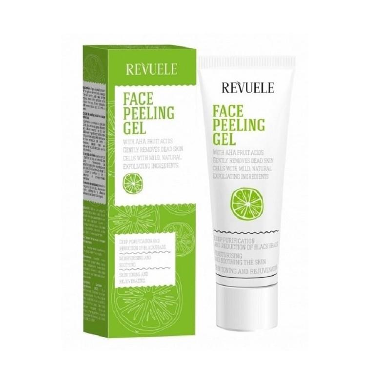 REVUELE Face Peeling Gel with AHA fruit acid