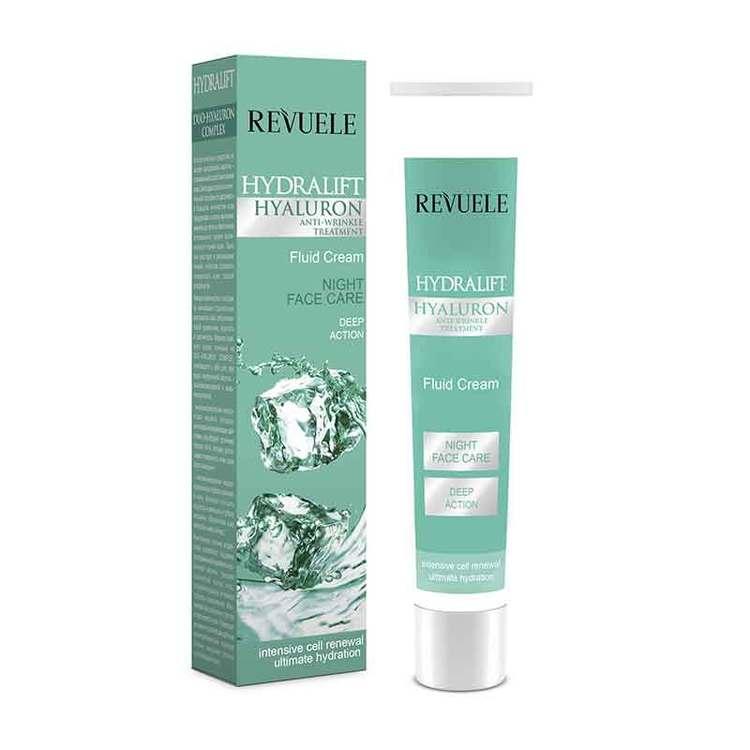 REVUELE Hydralift Hyaluron Night Fluid Cream