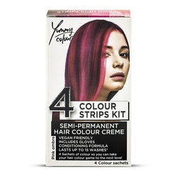 StarGazer Yummy Colour 4 Colour Strips Kit Pink Ombre