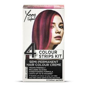 StarGazer Yummy Colour 4 Colour Strips Kit Pink Ombre