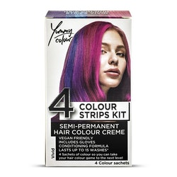 StarGazer Yummy Colour 4 Colour Strips Kit Vivid