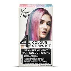 StarGazer Yummy Colour 4 Colour Strips Kit Pastel