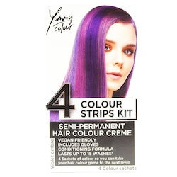 StarGazer Yummy Colour 4 Colour Strips Kit Violet Ombre