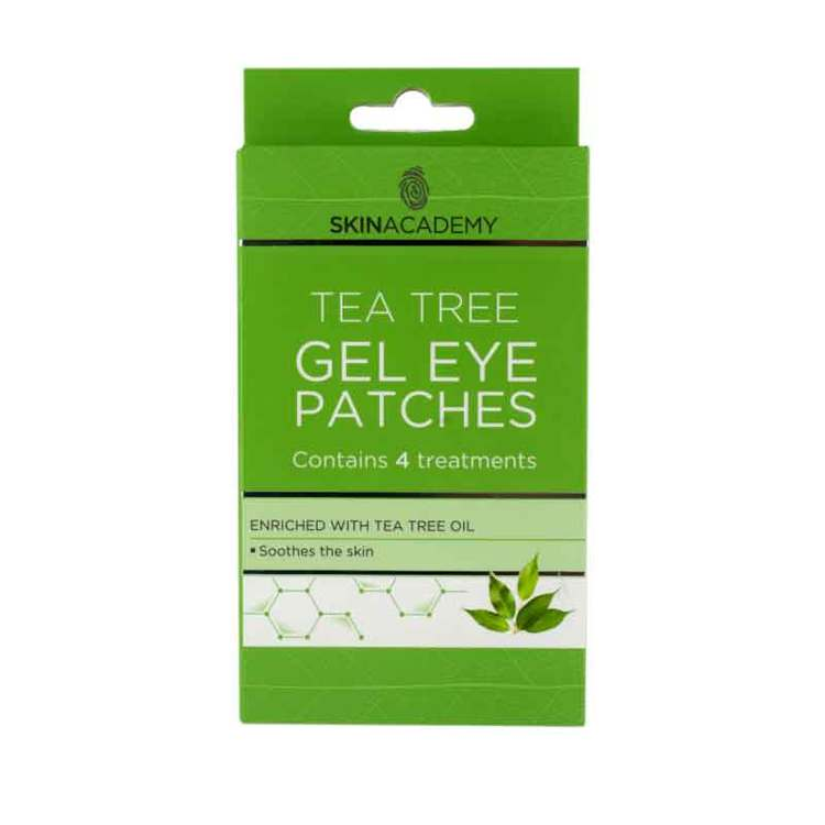 SKIN ACADEMY Tea Tree Gel Eye Patches